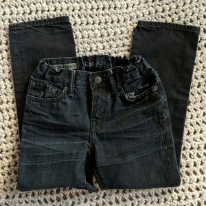 GAP Kids straight black jeans size 6